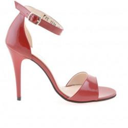Sandale dama 1238 lac rosu