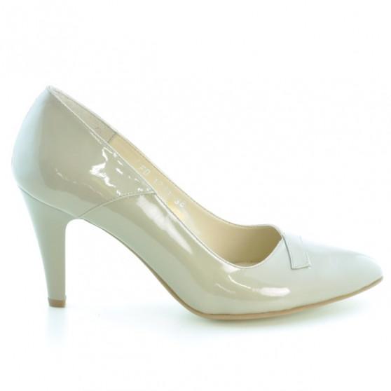 Pantofi eleganti dama 1231 lac bej