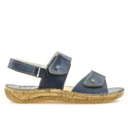 Sandale dama 518 indigo