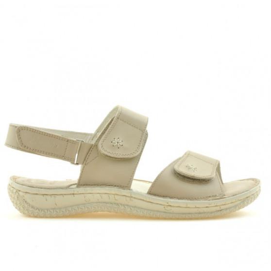 Sandale dama 518 bej