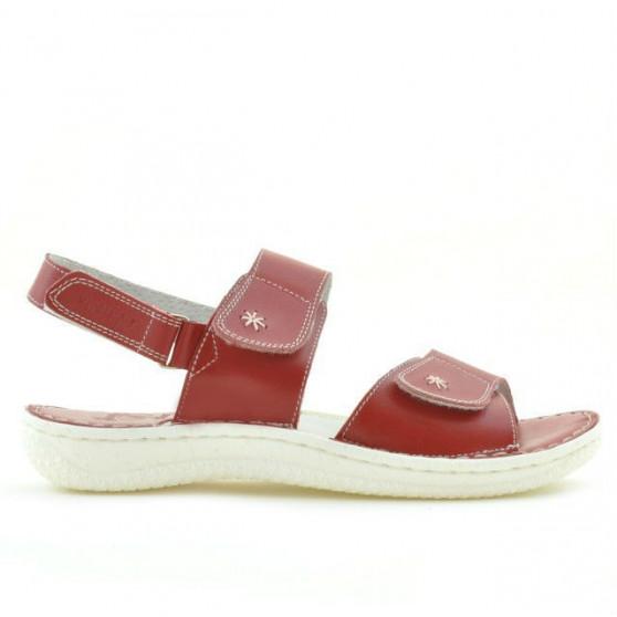 Women sandals 518 red