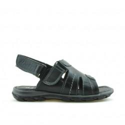 Small children sandals 41c black+gray
