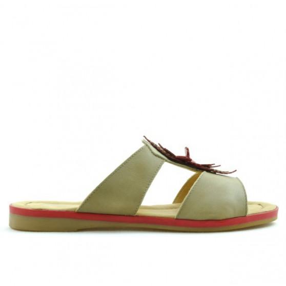 Sandale dama 5008 maro+rosu