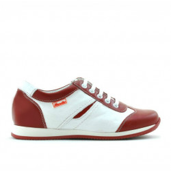 Children shoes 136 red+white