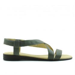 Women sandals 5010 kaki pearl