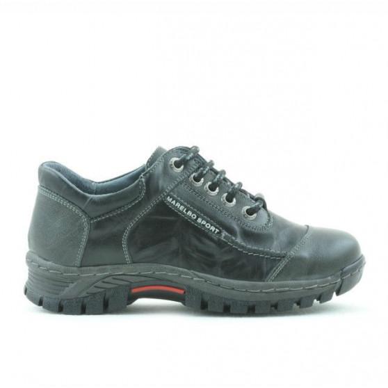 Pantofi copii 137 negru+gri
