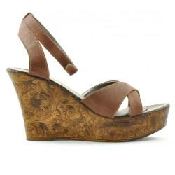 Sandale dama 5017 maro sidef