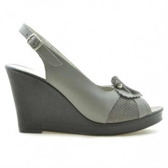 Sandale dama 5002 gri deschis