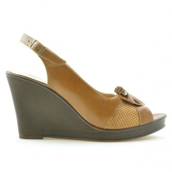 Sandale dama 5002 maro cerat