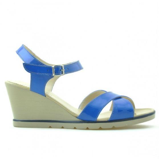 Sandale dama 5007 lac albastru