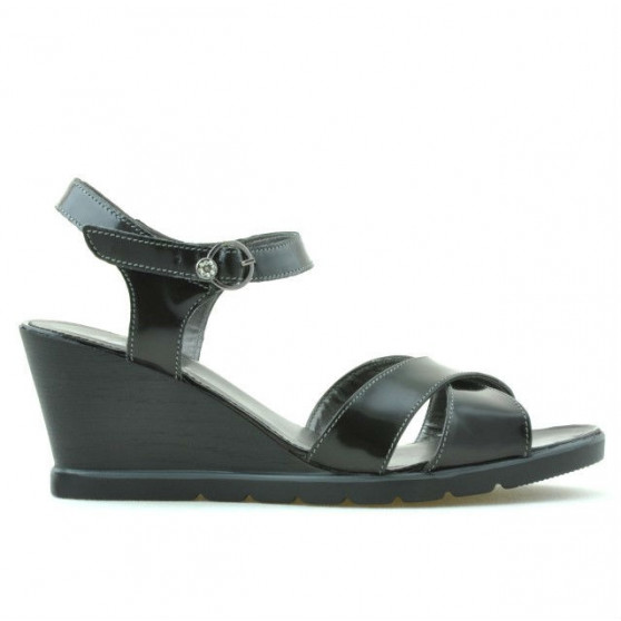 Sandale dama 5007 lac negru