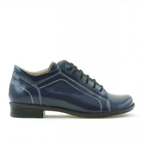Pantofi copii 122 lac indigo