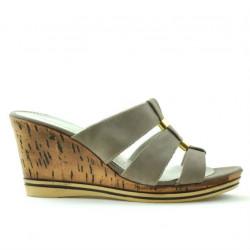 Sandale dama 5014 nisip satinat