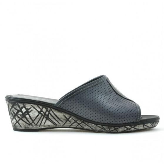 Sandale dama 5004p gri perforat
