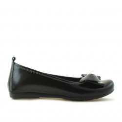 Pantofi copii 141 lac negru