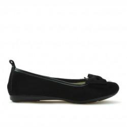 Pantofi copii 141 negru velur