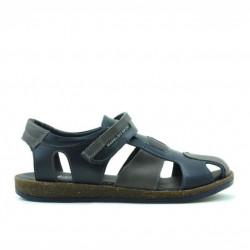 Children sandals 324 indigo+gray