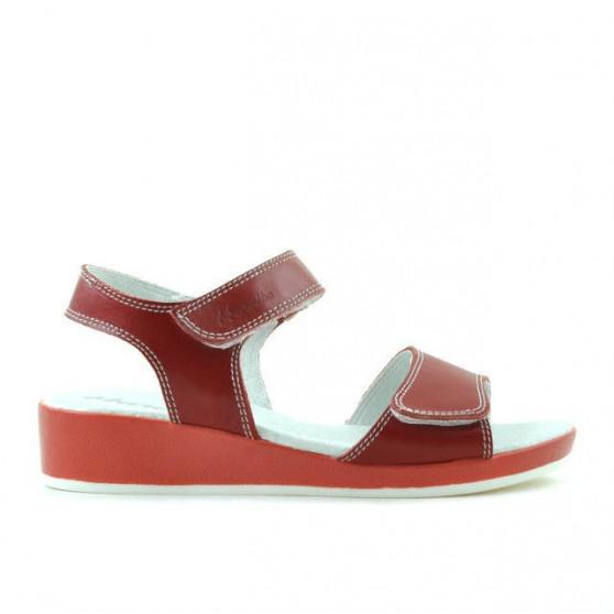 Sandale copii 532 rosu