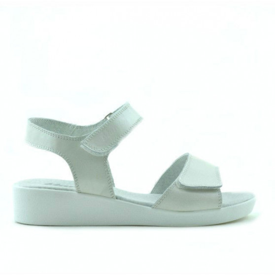Sandale copii 532 alb sidef
