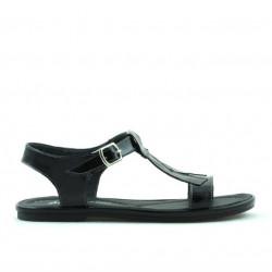 Children sandals 534 patent black