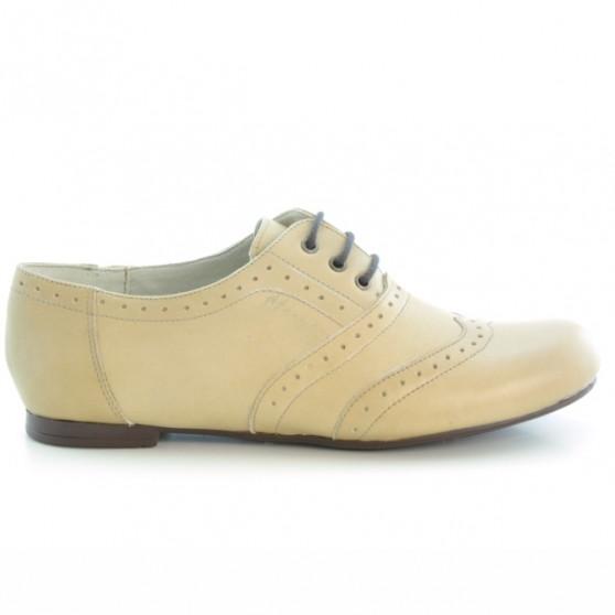 Pantofi casual dama 186 nisip