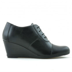 Pantofi casual dama 656 negru