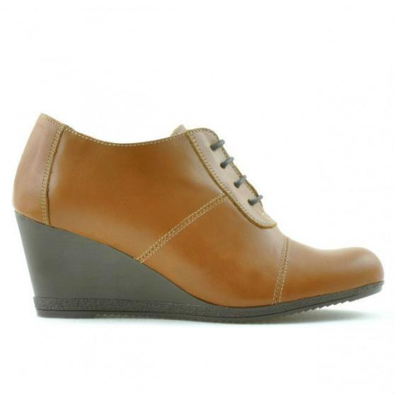 Pantofi casual dama 656 maro cerat