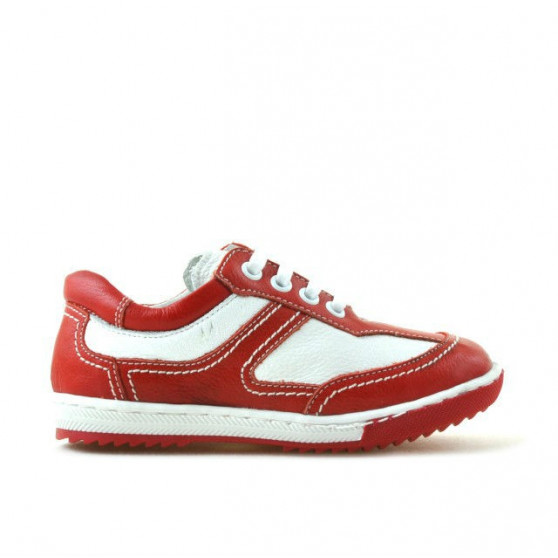 Small children shoes 15c red+white