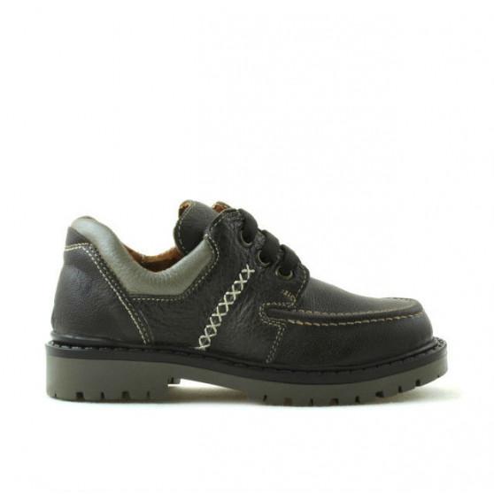 Pantofi copii mici 13c cafe