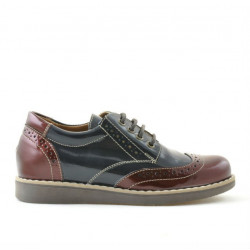 Children shoes 154 patent bordo combined