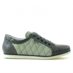 Women sport shoes 648 gray combined