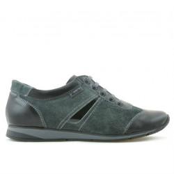 Pantofi sport dama 196 negru+gri