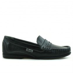 Women loafers, moccasins 661 black