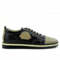 Teenagers stylish, elegant shoes 392 sand+cafe