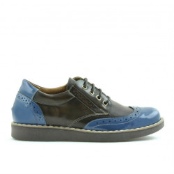 Children shoes 154 patent indigo combined