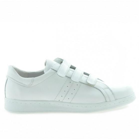 Pantofi sport adolescenti 369sc alb scai