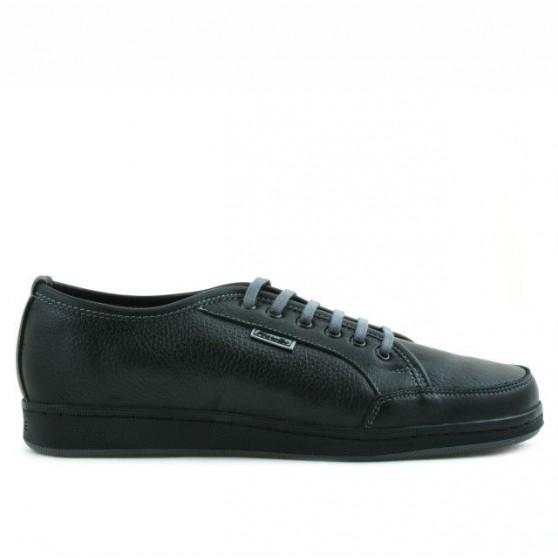 Pantofi sport adolescenti 312 negru+gri