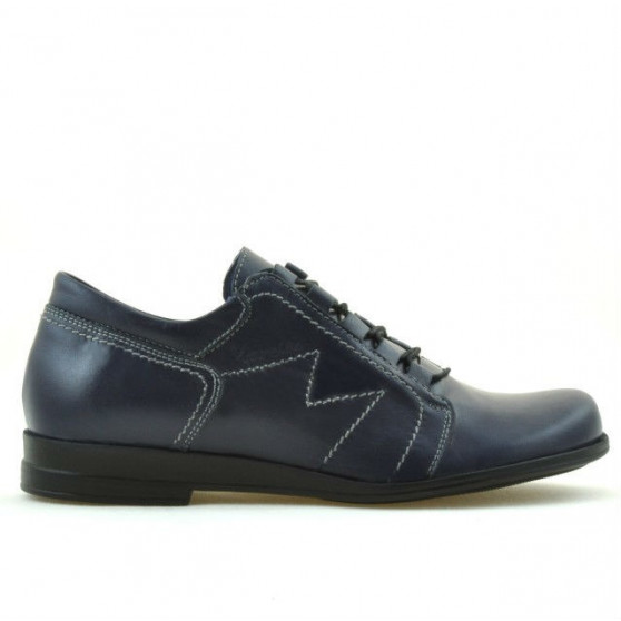 Pantofi casual dama 608 indigo