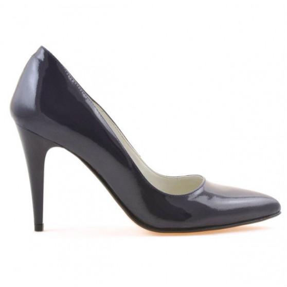 Pantofi eleganti dama 1246 lac indigo