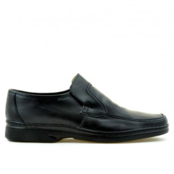Men stylish, elegant shoes (large size) 969m black