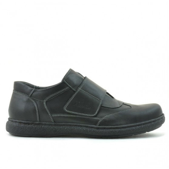 Pantofi casual barbati ( model larg ) 859xxl negru