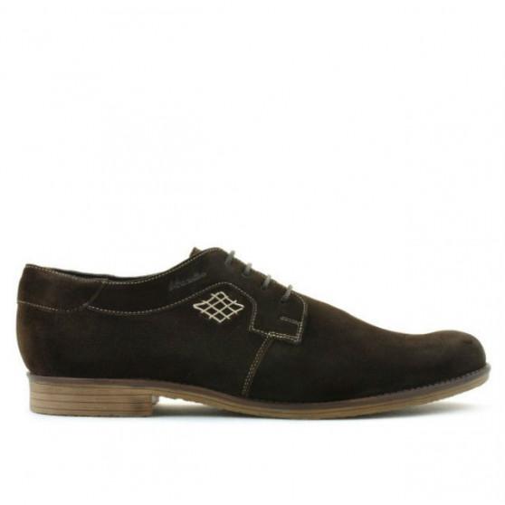 Pantofi casual / eleganti barbati (marimi mari) 730m cafe velur