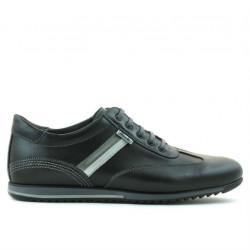 Men sport shoes 807 black+gray