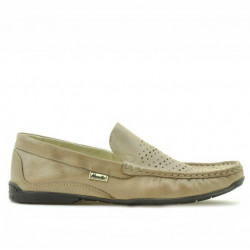 Men loafers, moccasins 813 sand perforat