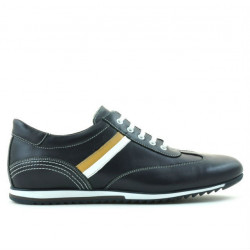 Men sport shoes 807 indigo+white