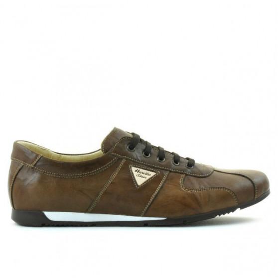 Pantofi sport barbati 729 crep maro