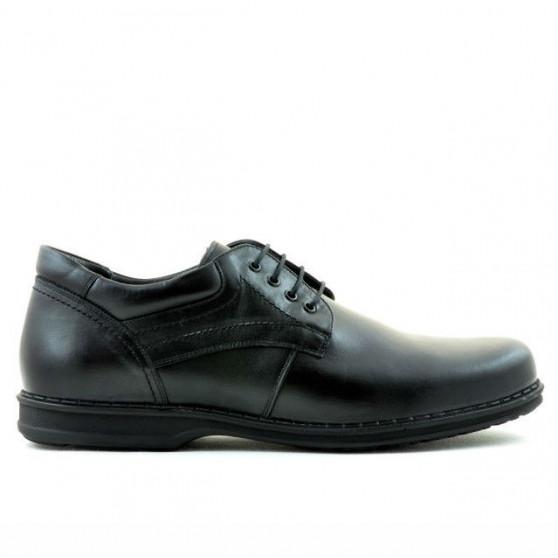 Men stylish, elegant, casual shoes (large size) 854m black