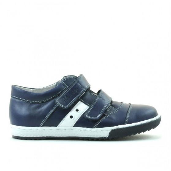 Pantofi copii 134 indigo+alb