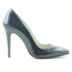 Pantofi eleganti dama 1241 lac indigo