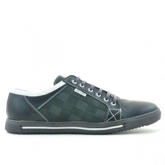 Pantofi sport barbati 851 gri+alb